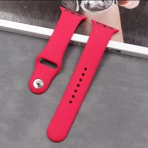 Watch Band Compatible with Apple Watch Pomegranate